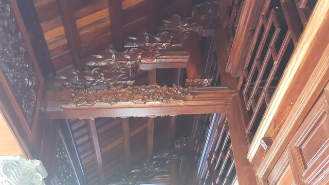 Bất ngờ trước ngôi nhà bằng gỗ lim của đại gia chân đất Hải Phòng - 5