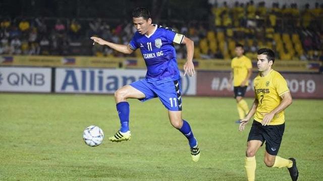 Thắng Ceres Negros, B.Bình Dương giành quyền đi tiếp ở AFC Cup - 2