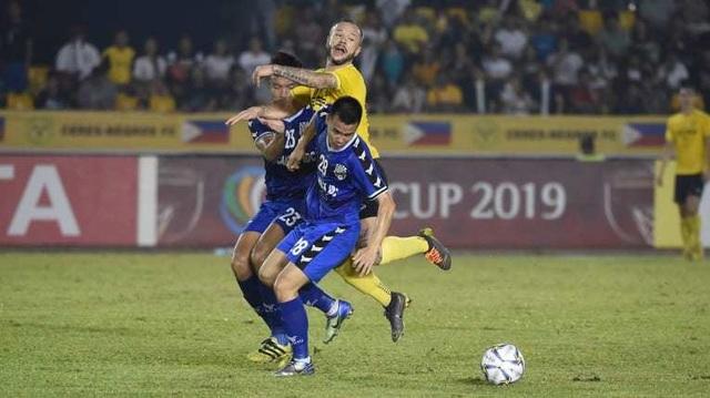 Thắng Ceres Negros, B.Bình Dương giành quyền đi tiếp ở AFC Cup