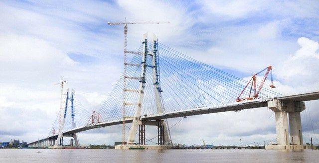 Sửa chữa xong sự cố nứt cầu Vàm Cống, dự kiến thông xe trong tháng 5 - 1