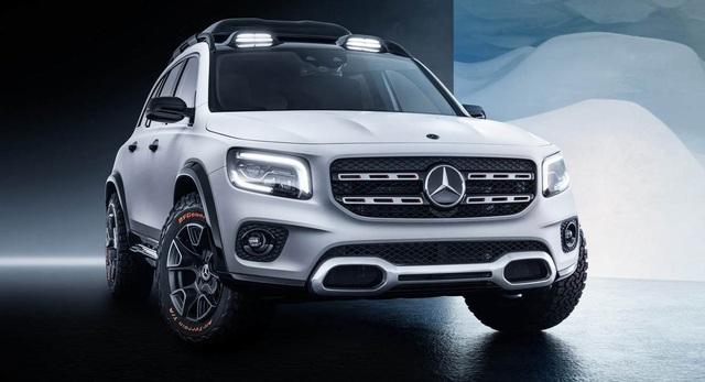 Mercedes-Benz chuẩn bị trình làng mẫu SUV 7 chỗ GLB - 1