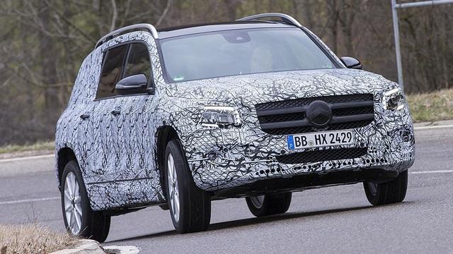 Mercedes-Benz chuẩn bị trình làng mẫu SUV 7 chỗ GLB - 3
