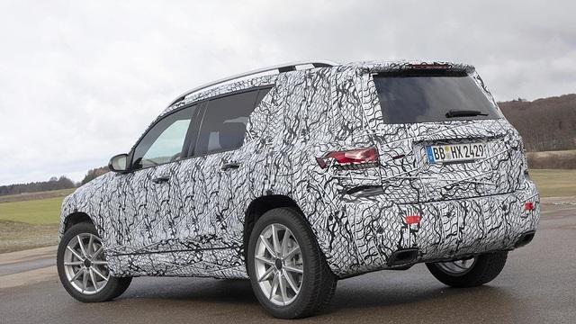 Mercedes-Benz chuẩn bị trình làng mẫu SUV 7 chỗ GLB - 6