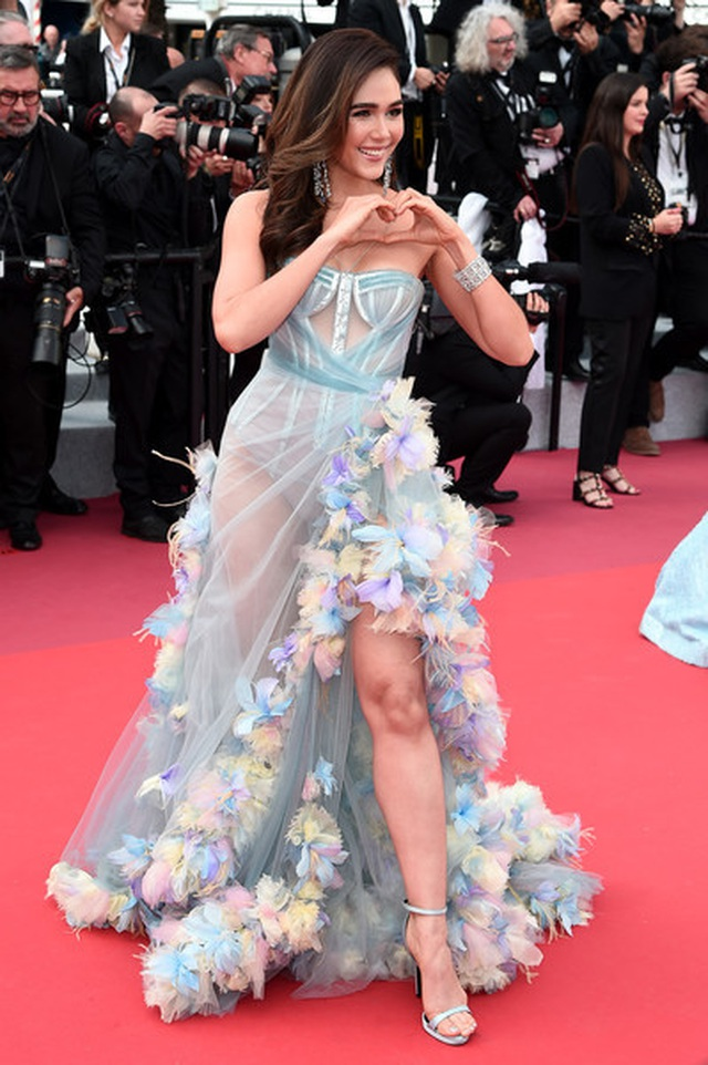 Kiềunữ Thái Lan Araya Hargate tỏa sáng tại Cannes - 6