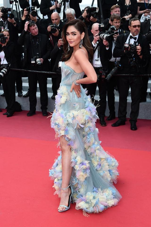 Kiềunữ Thái Lan Araya Hargate tỏa sáng tại Cannes - 7