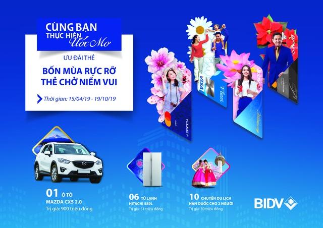 Cùng thẻ BIDV Giải nhiệt mùa hè - 1