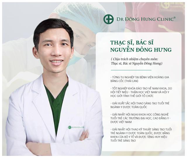 Dr Đông Hưng Clinic – Chăm sóc sức khỏe Nam Khoa, Phụ Khoa - 3