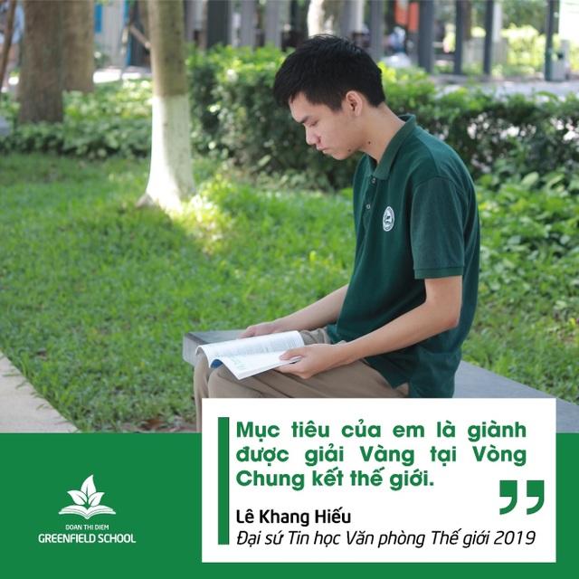 Từ cậu học sinh nhút nhát trở thành Đại sứ Tin học văn phòng thế giới 2019 - 4