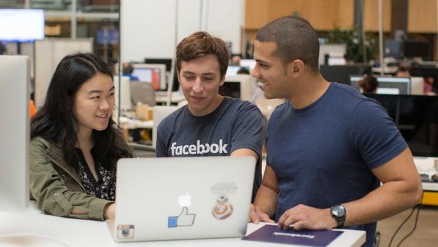 Facebook dẫn đầu danh sách những nơi trả lương cao nhất cho thực tập sinh ở Mỹ - 1