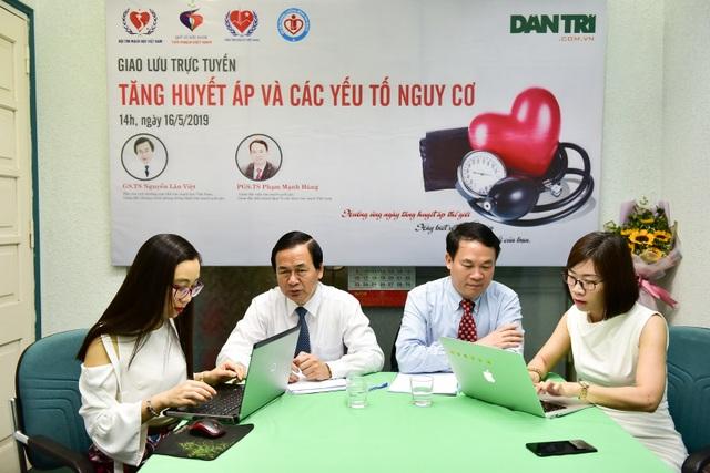 Giao lưu trực tuyến: Tăng huyết áp và các yếu tố nguy cơ - 1