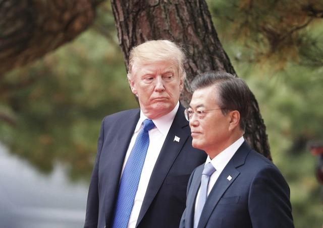 """Đàm phán Triều Tiên bế tắc, ông Trump """"thân chinh"""" tới Hàn Quốc - 1"""