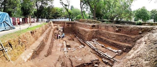 Phát lộ dấu tích đường vào cấm thành Thăng Long từ thời nhà Lê - 1