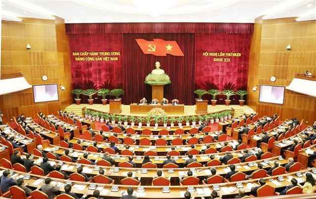 Khai mạc Hội nghị lần thứ 10 Ban Chấp hành Trung ương Đảng Khóa XII - 3