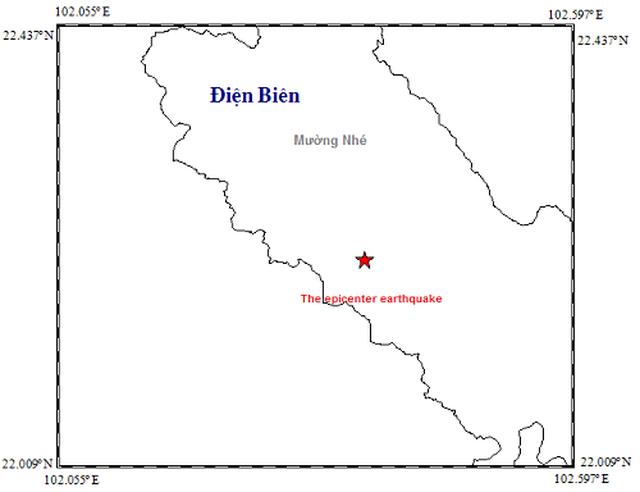 Động đất 3,2 độ richter tại Điện Biên - 1