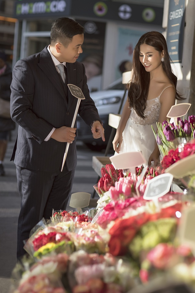 """Ảnh cưới đẹp lung linh của đạo diễn """"Cua lại vợ bầu"""" với vợ hot girl - 6"""