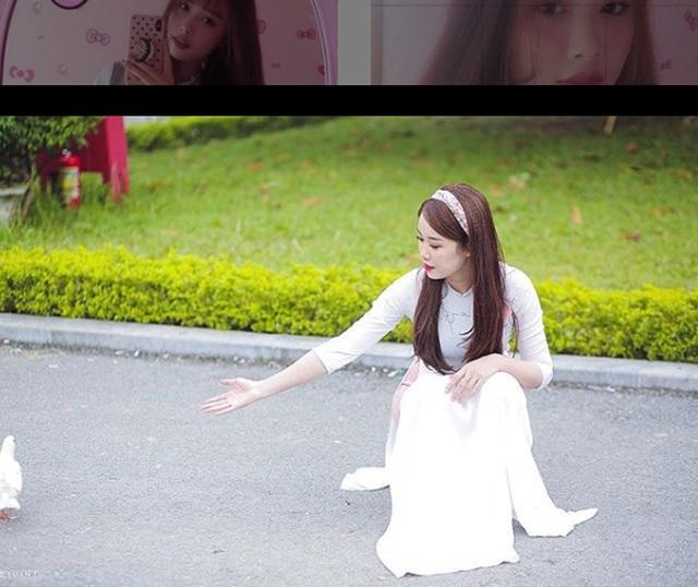 Cô gái yêu tiền đạo nổi tiếng Việt Nam gây bất ngờ với hình ảnh gợi cảm - 17