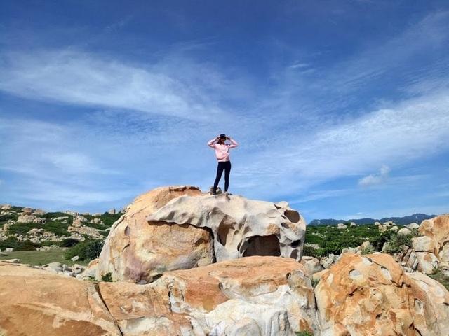 Đến Ninh Thuận khám phá công viên đá hoang sơ  - 5
