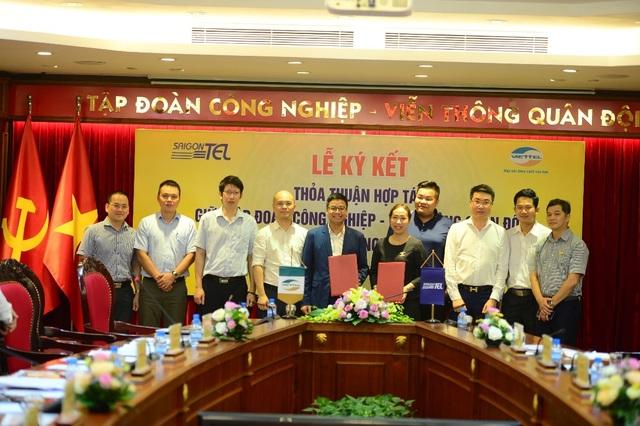 Viettel và Saigontel hợp tác xây dựng khu công nghiệp thông minh kiểu mẫu - 1