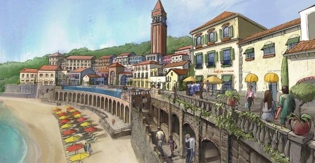 """Sẽ có một """"Amalfi cổ trấn"""" trên đảo Ngọc thiên đường - 4"""