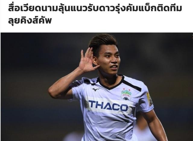 Báo chí Thái Lan cảnh báo về sự trở lại của Văn Thanh trước King.s Cup