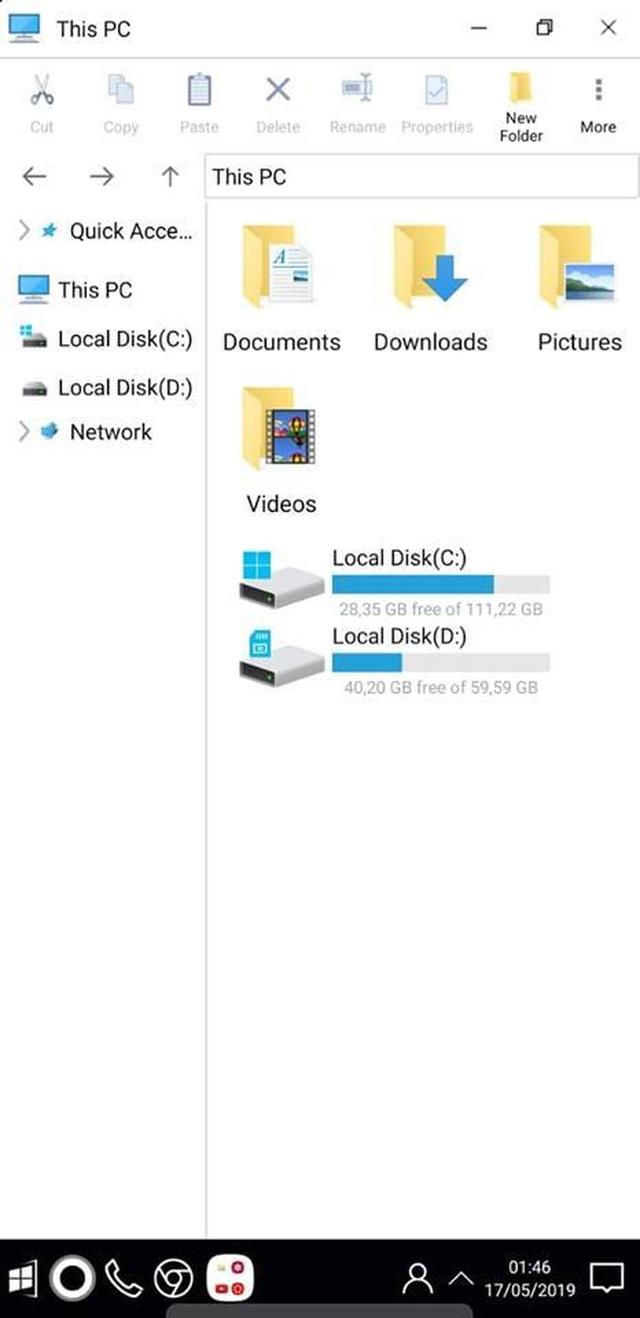 """Mẹo hay giúp """"lột xác"""" smartphone thành máy tính chạy Windows 10 - 9"""