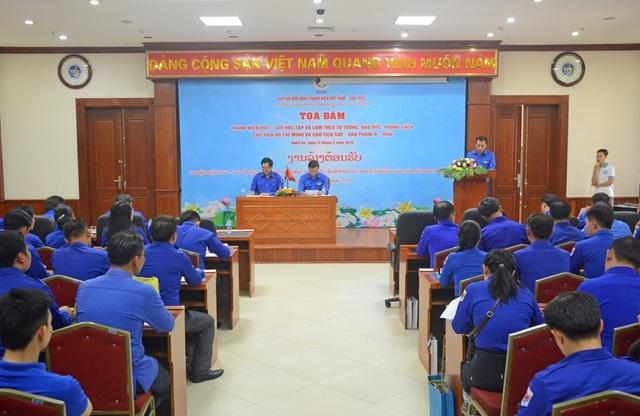 Xây dựng tình đoàn kết tuổi trẻ hai nước Việt Nam - Lào - 1