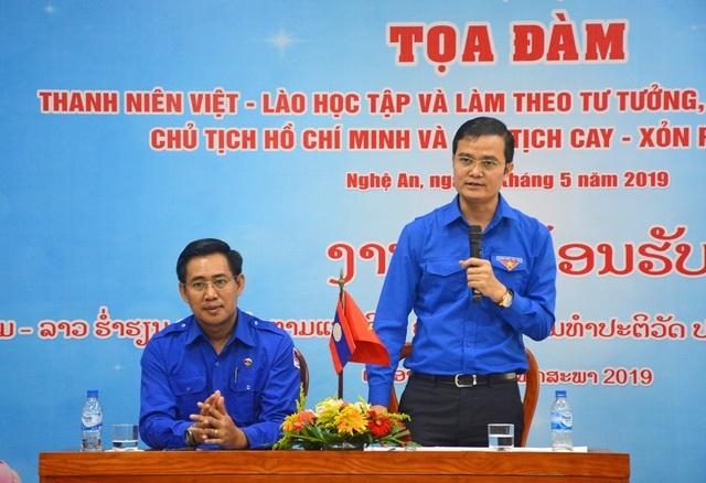 Xây dựng tình đoàn kết tuổi trẻ hai nước Việt Nam - Lào - 3