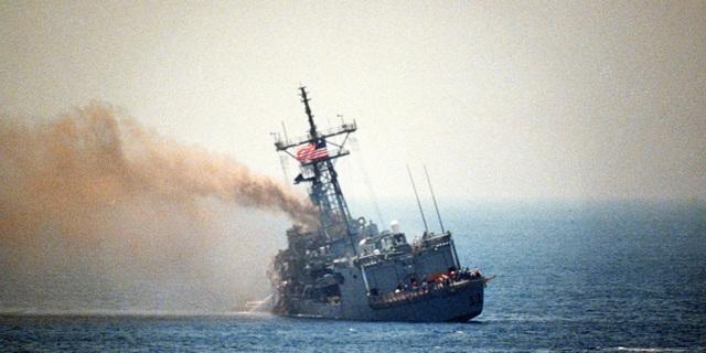 Vụ tấn công tên lửa vào tàu chiến Mỹ thành công duy nhất trong 32 năm - 1