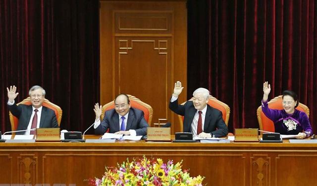 Trung ương hoàn thành 3 nội dung nghị sự lớn tại hội nghị 10 - 1