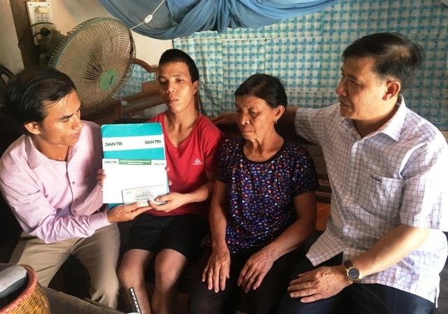Anh Mã Văn Thuận tiếp tục được bạn đọc Dân trí giúp đỡ gần 22 triệu đồng - 2