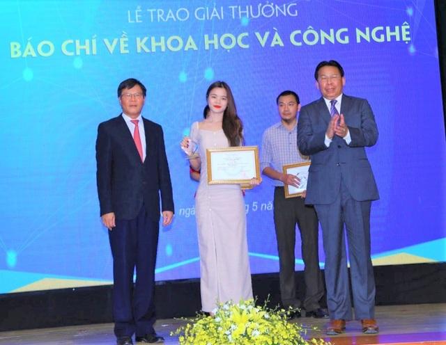 Báo Dân trí đạt giải ba Giải thưởng báo chí Khoa học và Công nghệ - 1