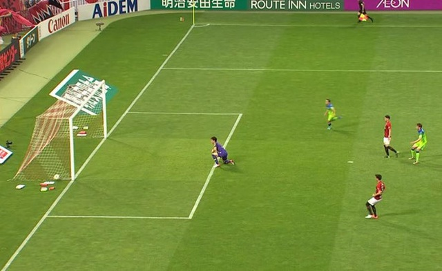 The bag deprives the amazing goal of the Japanese tournament - 1