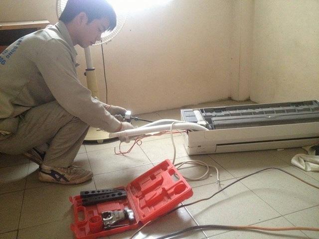 Nắng nóng kéo dài, công lắp điều hòa ở Hà Nội tăng phi mã - 2