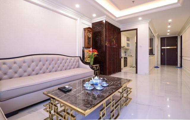 Ngắm căn hộ tân cổ điển vạn người mê ở Hà Nội - 2