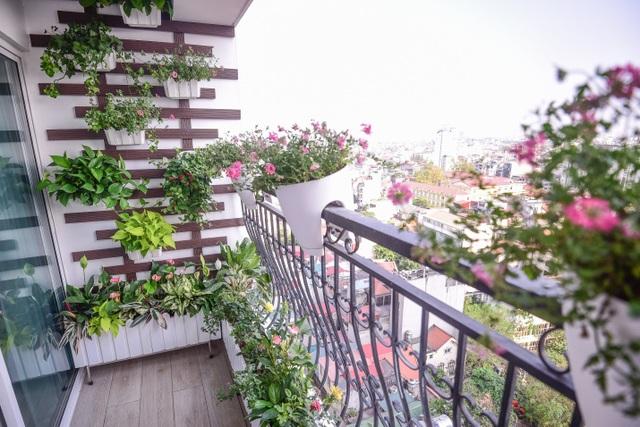 Ngắm căn hộ tân cổ điển vạn người mê ở Hà Nội - 7