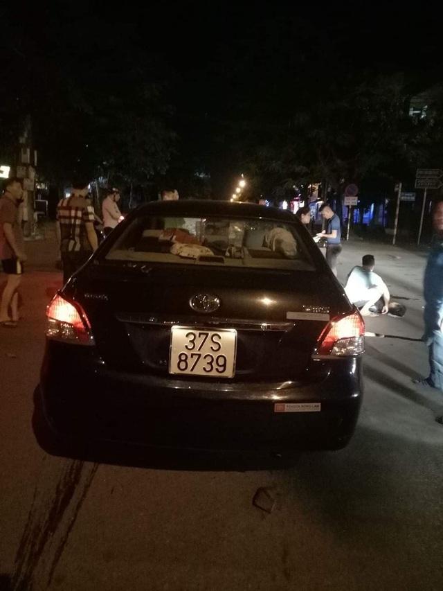 Nghi vấn cán bộ Sở Xây dựng say xỉn lái xe đâm bị thương 2 học sinh - 1