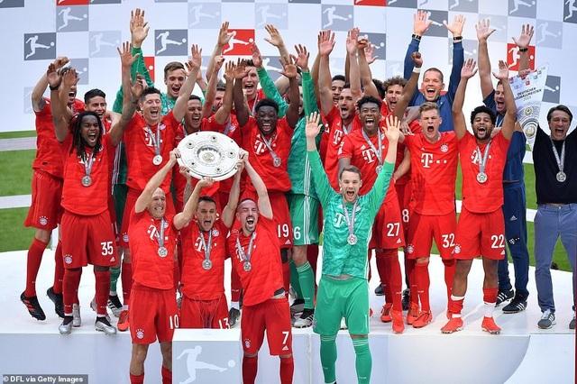 Robben và Ribery lập công, Bayern Munich vô địch Bundesliga lần thứ 29 - 2