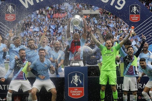 MU hưởng lợi khi Man City vô địch FA Cup - 1