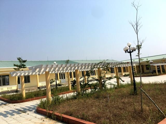 Trường mầm non bỏ hoang
