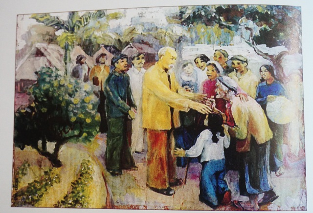 Người họa sĩ dành trọn đời khắc họa hình ảnh Bác Hồ - 3