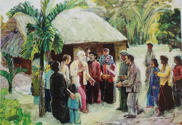 Người họa sĩ dành trọn đời khắc họa hình ảnh Bác Hồ - 2