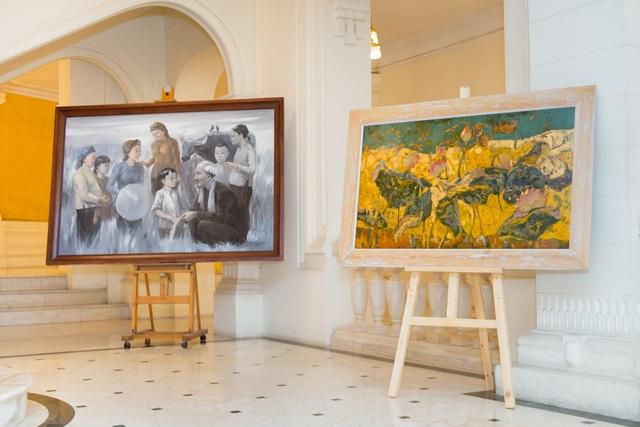 Trưng bày 38 bức vẽ Bác Hồ của nhiều hoạ sĩ nổi tiếng - 8