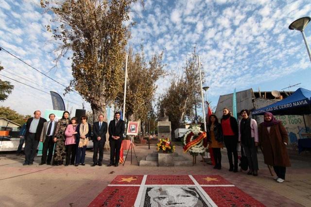 Kỷ niệm 129 năm ngày sinh Chủ tịch Hồ Chí Minh tại Chile - 1