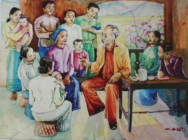 Người họa sĩ dành trọn đời khắc họa hình ảnh Bác Hồ - 6