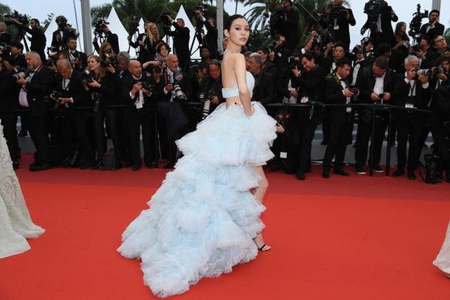 Siêu mẫu Trung quốc tái xuất tại Cannes sau khi được đại gia cầu hôn - 1