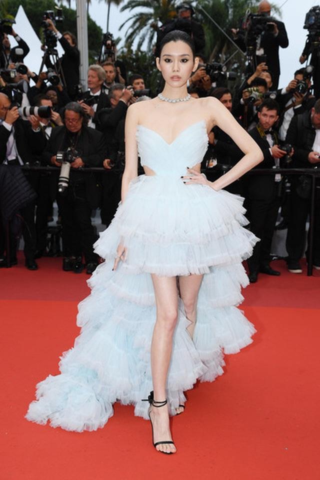 Siêu mẫu Trung quốc tái xuất tại Cannes sau khi được đại gia cầu hôn - 5