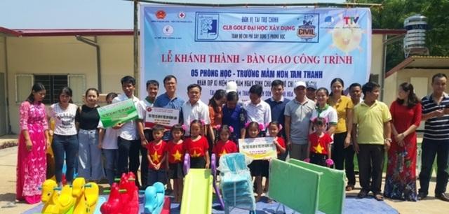 """Thêm một điểm trường """"Vì trẻ em vùng cao"""" tại huyện miền núi Quan Sơn - 2"""