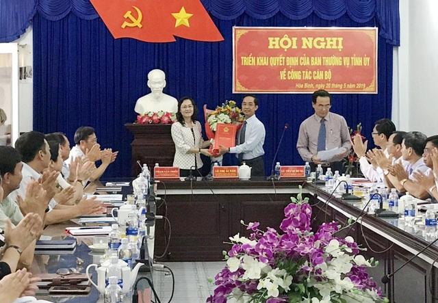 Bạc Liêu điều Phó Chủ tịch HĐND tỉnh làm Bí thư huyện - 1
