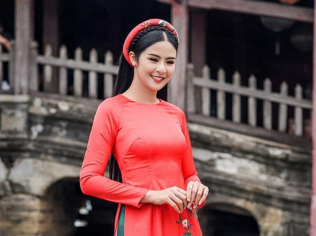 Hoa hậu Ngọc Hân bất ngờ mặc áo tắm khoe body sau nhiều năm đăng quang - 8