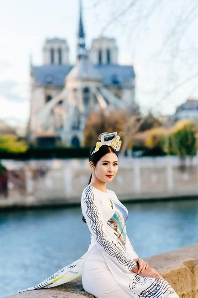 Hoa hậu Ngọc Hân bất ngờ mặc áo tắm khoe body sau nhiều năm đăng quang - 11